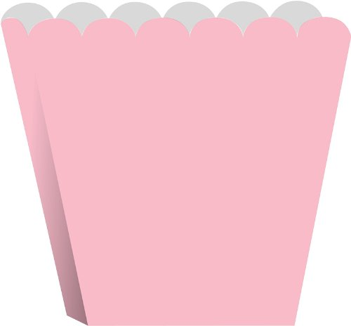 Creative Converting Treat Boxes, Classic Pink, 8 Per Package
