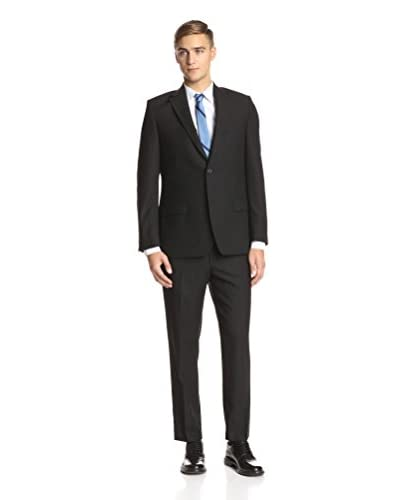 Ike Behar Men's Double Pinstripe Suit