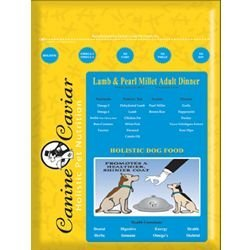 Canine Caviar Lamb Adult Dry Dog Food 30lb
