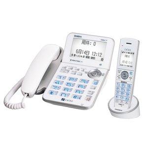 ユニデン DECT方式コードレス留守番電話機 本体+子機1台タイプ(ホワイト) DECT3288(W)