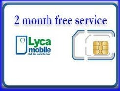 Lycamobile Nano Preloaded Sim Card with $29 Plan Include 2 Month Free Service