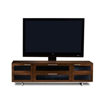 Cheap Avion II 77″ TV Stand in Chocolate Stained Walnut (8929CSW)