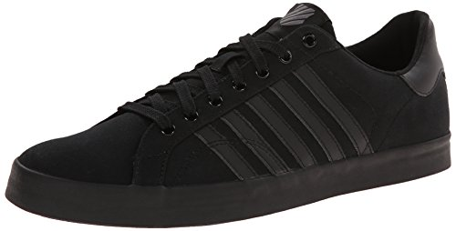 K-Swiss BELMONT SO T, Herren Sneakers, Schwarz (Black/Charcoal 006), 42 EU (8 Herren UK) thumbnail