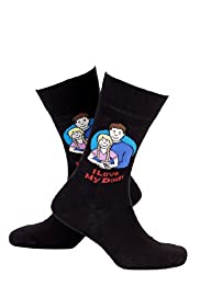 Cotton Rich Dad Girl Socks