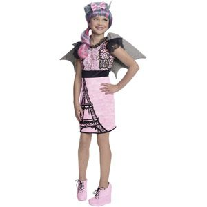 Monster High Halloween Costume Rochelle Goyle Scaris Small (4-6)