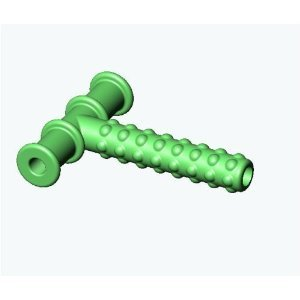 Knobby Texture Chewy Tube Green Baby