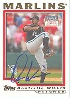 Dontrelle Willis Florida Marlins 2004 Topps Autographed Hand Signed Trading Card -... by Hall+of+Fame+Memorabilia