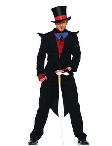 Adult-Costume Mad Hatter Evil Xlg Halloween Costume - Adult Extra Large
