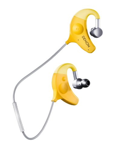 Casque Denon AHW - 150 Jaune- Bluetooth
