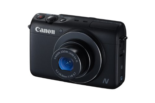 Canon PowerShot N100 HS 12.1MP Digital Camera (Black) Big Discount