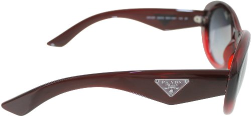 prada Prada PR30PS Sunglasses-MAX/5W1 Bordeaux Grad (Polarized Gray Grad Lens)-55mm