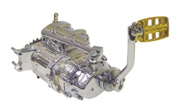 Polished Case Transmission Fits Big Twin 4 speed frame with 1970/Early 1984 primary drive-by-Baker Drivetrain