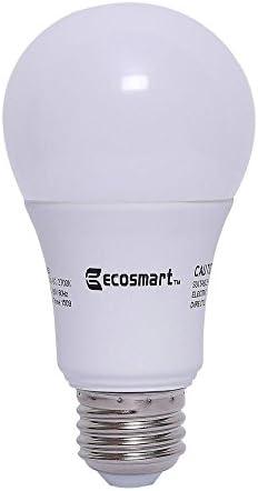 8-Pk. EcoSmart 60W A19 LED Light Bulb