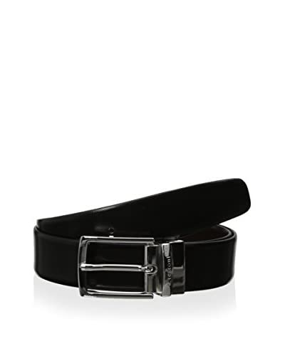 a.testoni Men's Reversible Box Calf Belt