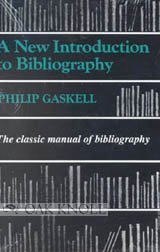 A New Introduction to Bibliography