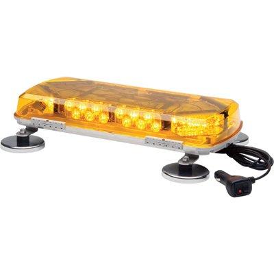 Whelen Century Amber Mini Lightbar With Magnetic Mount - 12 Volt, 16In., 8 Leds, Model# Mc16Ma