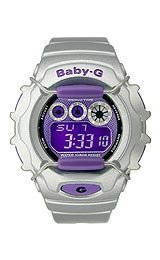 Baby-G World Time Chrono Digital Purple Dial Women's watch #BG1006SA-8