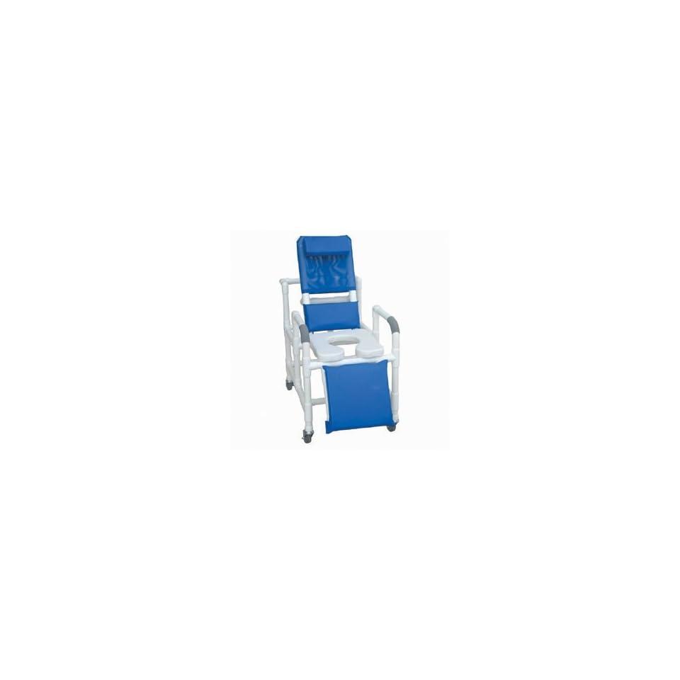 MJM International 193 SSDE Reclining Shower Chair