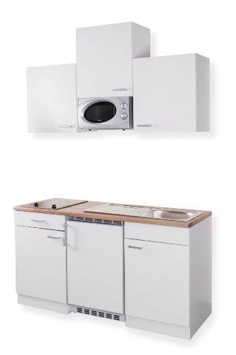 Hängeschränke und glaskeramik kochfeld kühlschrank und mikrowelle