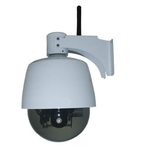 PTZ Surveillance/network Camera Outdoor High Speed Weatherproof Wireless WIFI Pan/tilt IP Camera, Supporting 3x Optical Zoom Audio in and Output Certified IPWPCAM10