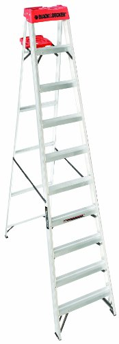 250 Lb Ladder Rating 10 : Black decker bxl  feet pound duty rating