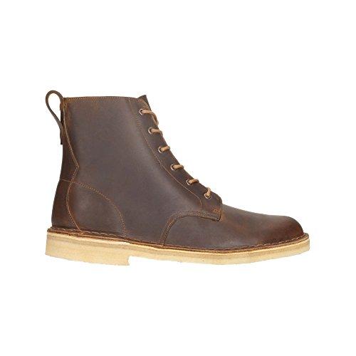 Clarks Originals Détente Homme Boots/Bottes Desert Mali En Cuir Marron Taille 44œ