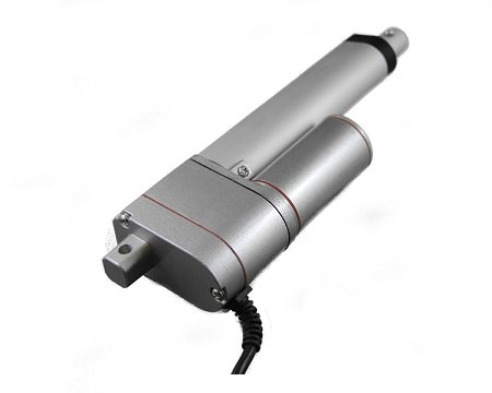 """Progressive Automations Linear Actuator Stroke Size 4"""", Force 150 Lbs, Speed 0.59""""/Sec - 12 Vdc"""