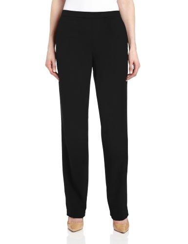 Briggs New York Women's All Around Comfort Pant,Black,1
