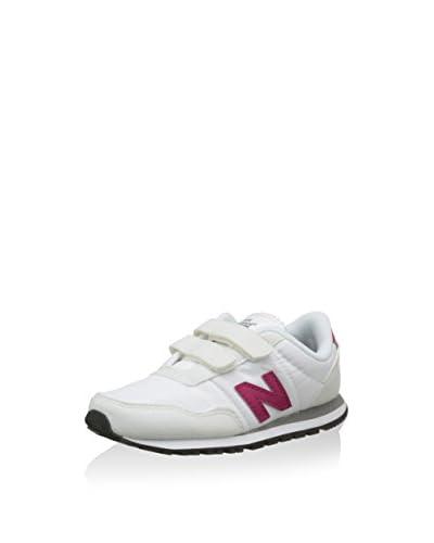 New Balance Sneaker NBKV396WTP [Bianco/Fucsia]