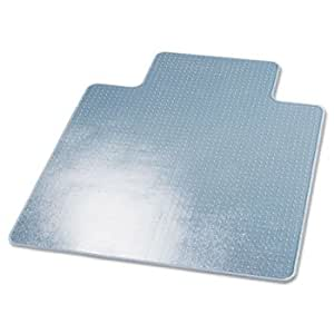 SuperMat Studded Beveled Mat For Med Pile Carpet 45w X 53h Cle