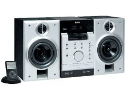 RCA RS2120i 1 Disc CD Changer Bookshelf Audio System