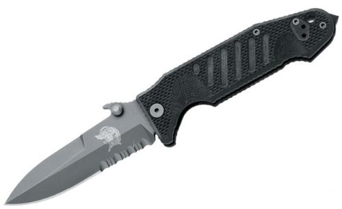 Fox Knives FX-SOK09CM02 B Col Moschin Delta Specific OPS knife, Black