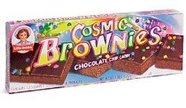 LITTLE DEBBIE COSMIC BROWNIES 6CT BOX { 6 BOXES / 36PC }