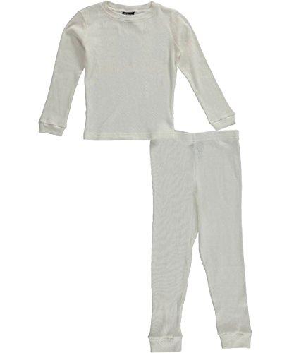 Ice2O Big Boys' 2-Piece Thermal Underwear Set - ivory, 14 - 16