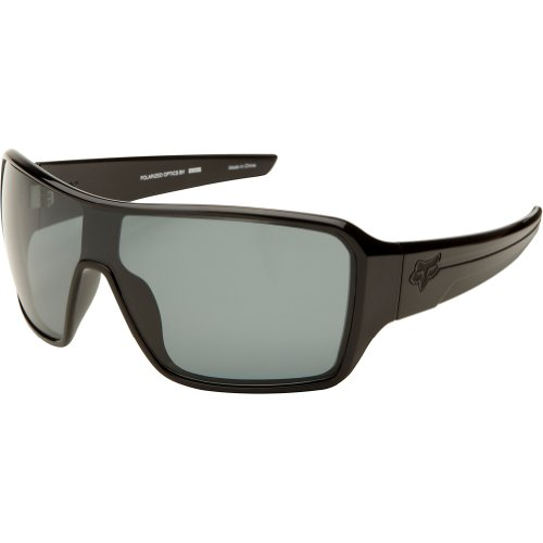 Fox Racing The Super Duncan Adult Polarized Authentic Sunglasses - Polished Black/Grey / One Size Fits All