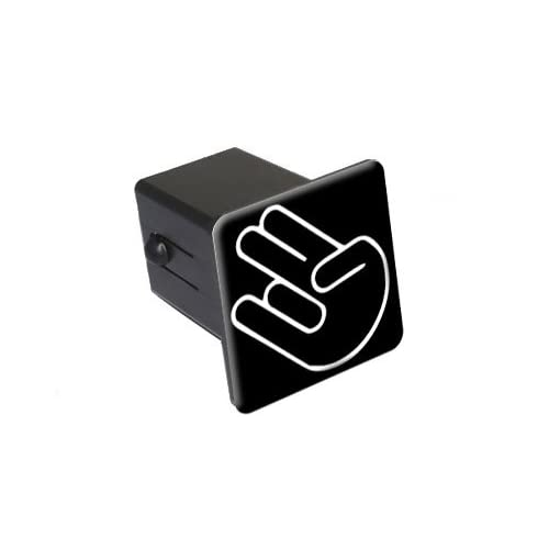 """Amazon.com: Shocker Hand Gesture - Funny - 2"""" Tow Trailer Hitch Cover"""