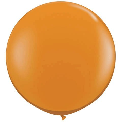 PIONEER BALLOON COMPANY 43263 Latex Balloon, 3', Mandarin Orange