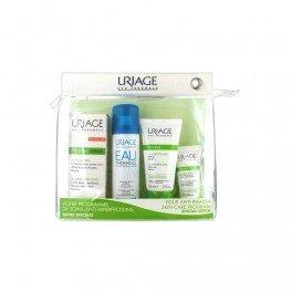 Uriage Hyseac 3-regul Kit: Hysea 3 + Gel Detergente + Maschera Esfoliante + Acqua Termale