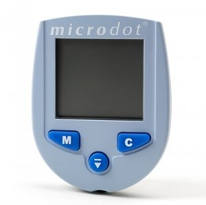 Image of Microdot Glucose Blood Meters/METER, GLUCOSE BLOOD, MICRODOT (B008UTZ0RG)