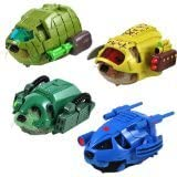 Kung Zhu Special Forces Battle Armor Set of 4