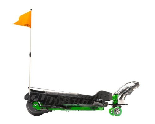 Urban Shredder By Hot Wheels Electric Scooter, Black/Green