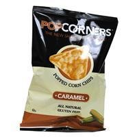 Popcorners Popped Corn Chips, Carmel 1.1 oz. (Pack of 8)