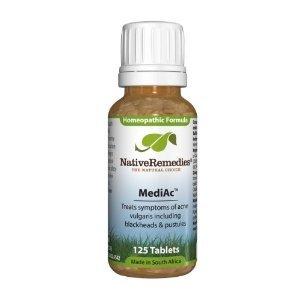 Native Remedies Mediac To Temporarily Treat Symptoms Of Acne Vulgaris (125 Tablets), 0.2 Units