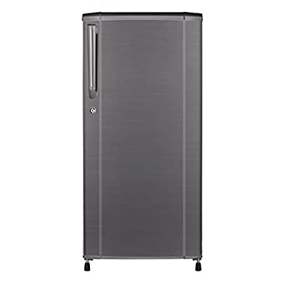 Haier HRD-2015CBS-H Direct-cool Single-door Refrigerator (181 Ltrs, 4 Star Rating, Brushline Silver)