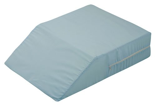 Lowest Price! Mabis DMI Ortho Bed Wedge Leg Rest Cushion Pillow, Blue