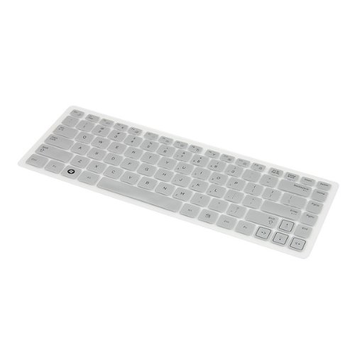 Silicone Keyboard Cover Skin for 11.6 Apple Laptop Silver