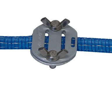 """3/4"""" Polytape Buckle For Electric Fence - 2Pk"""