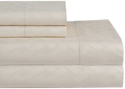 Celeste Home 410 Tc Dobby 100% Pima Cotton Sheet Set, Bone, Twin Xl front-768101