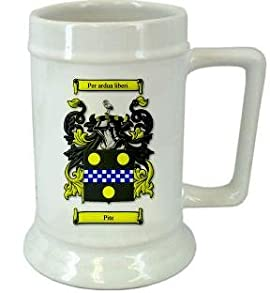 Pite Family Crest Stein / Pite Coat of Arms Stein