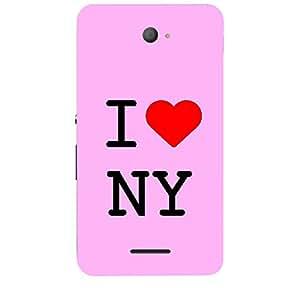 Skin4gadgets I love New York - NY Colour - Light Pink Phone Skin for XPERIA E4